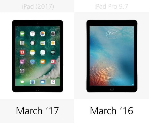 2017年款iPad和9.7寸iPad Pro规格参数对比的照片 - 20
