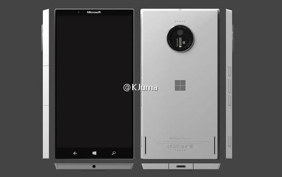 Surface Phone谍照曝光的照片 - 1
