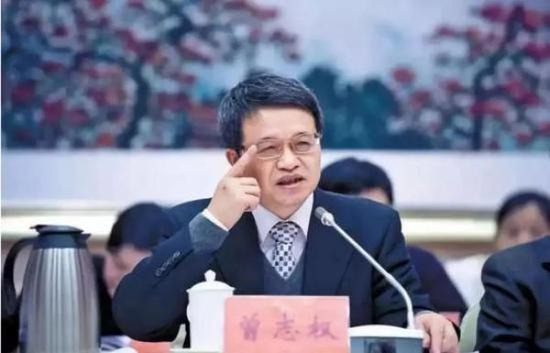 广东省委常委曾志权落马 事涉任职财政厅期间