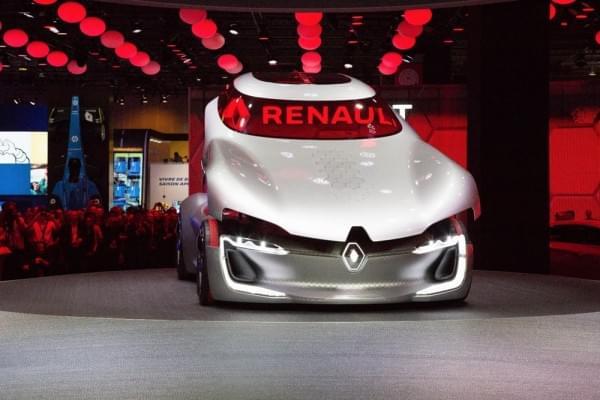 雷诺发布Trezor概念电动超跑:使用蛤壳式车门的照片 - 8