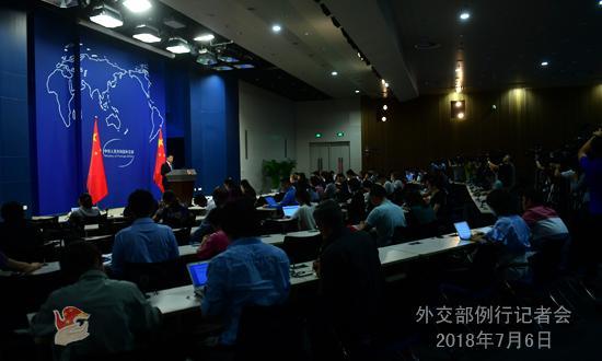 外交部:中美双方就共同关心的问题一直保持着沟通
