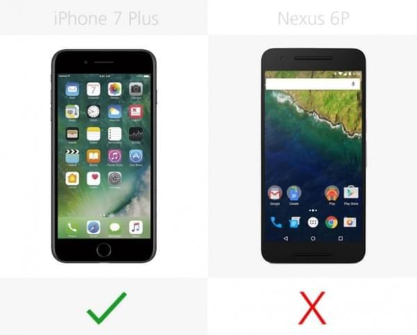 iPhone 7 Plus和Nexus 6P规格参数对比的照片 - 10