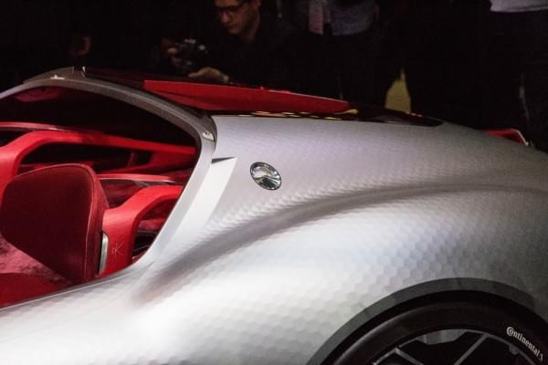 雷诺发布Trezor概念电动超跑:使用蛤壳式车门的照片 - 6