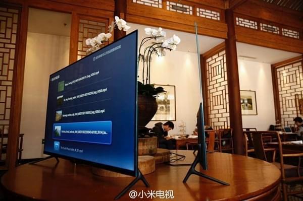 小米电视4正式宣布:LED/4K/无边框/超薄的照片 - 1