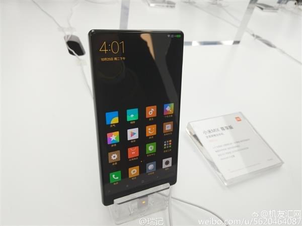 小米MIX全面屏手机真机现场图赏:3499元起售的照片 - 10