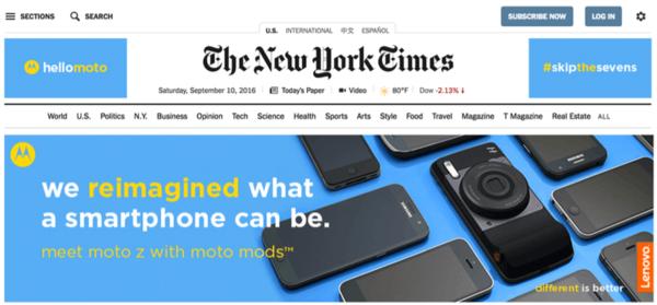 Moto打广告嘲讽苹果:不再是一个冒险者的照片 - 2