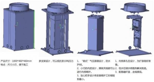 中国移动首发:一次完整的井盖基站建设全过程的照片 - 3