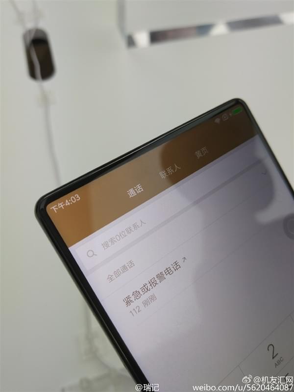 小米MIX全面屏手机真机现场图赏:3499元起售的照片 - 11