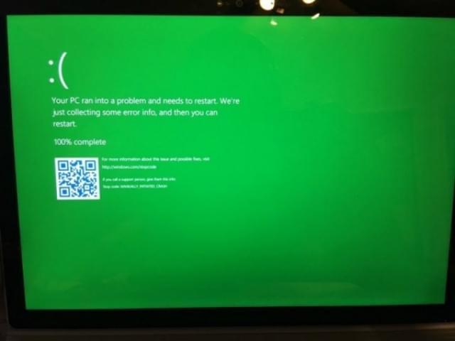 早报:Win10内测预览版引入死机绿屏