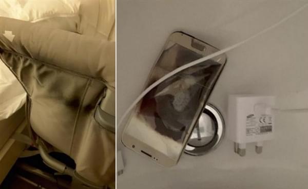 三星Galaxy S6充电爆炸:烧坏婴儿床的照片 - 3