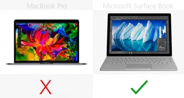 MacBook Pro和Surface Book终极对比的照片 - 16