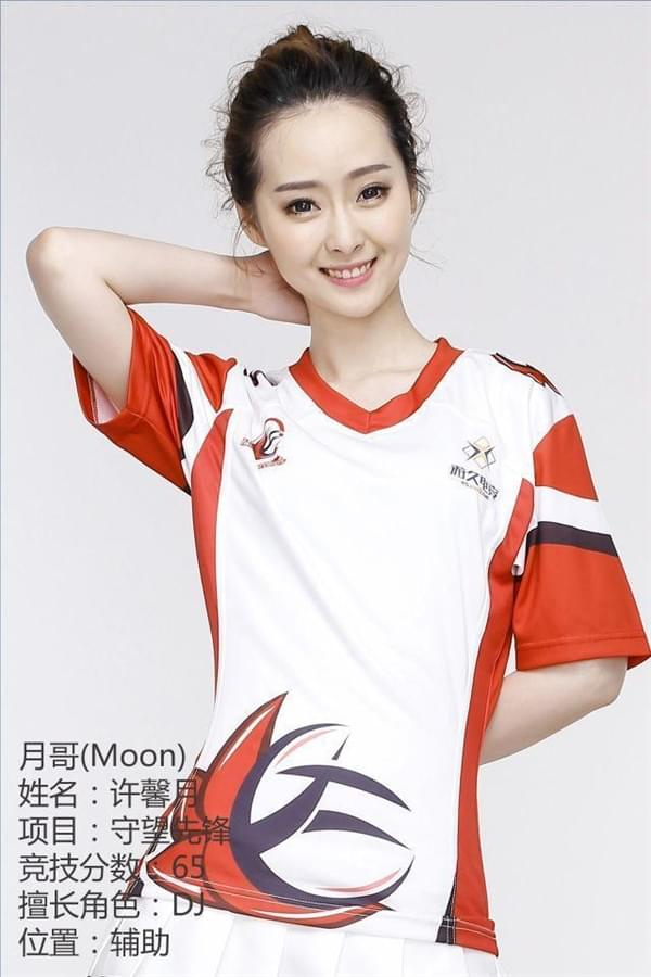 中国首支女子《守望先锋》战队成立:都是大美女的照片 - 7