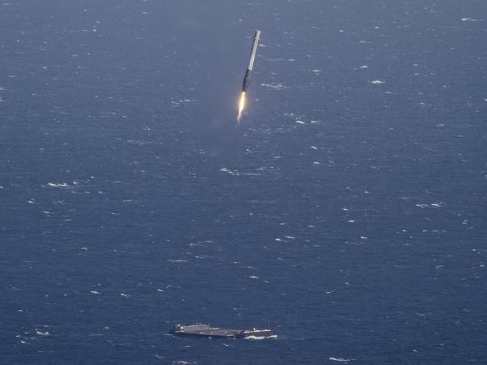SpaceX再次创造历史 火箭回收后再次发射成功的照片 - 2