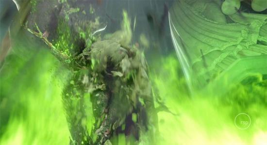 解密《权力的游戏》瑟曦用野火复仇的背后特效的照片 - 2
