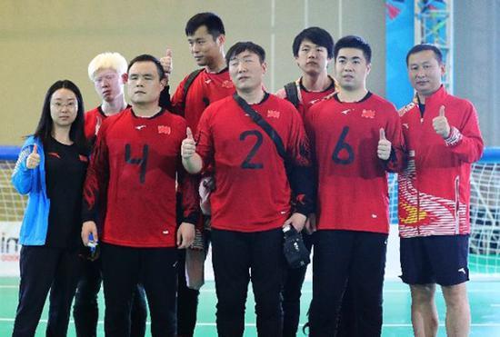 中国盲人门球领队:15年为残疾人体育投资2亿元