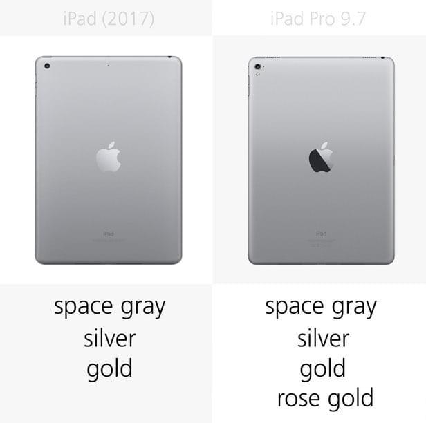 2017年款iPad和9.7寸iPad Pro规格参数对比的照片 - 4