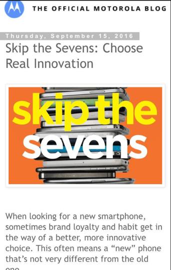 Moto打广告嘲讽苹果:不再是一个冒险者的照片 - 3