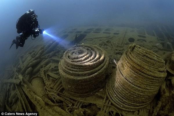 """探险家花25年终于找到二战""""黄金沉船""""的照片 - 3"""
