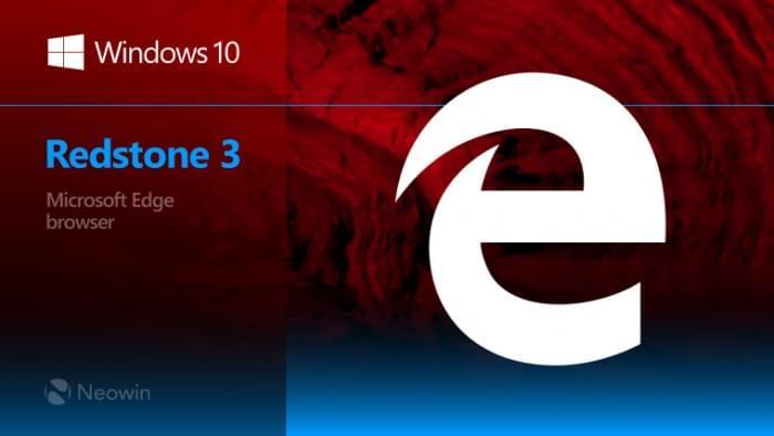 Windows 10 RS3开始 微软将会单独更新Edge浏览器的照片