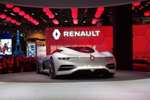 雷诺发布Trezor概念电动超跑:使用蛤壳式车门的照片 - 14