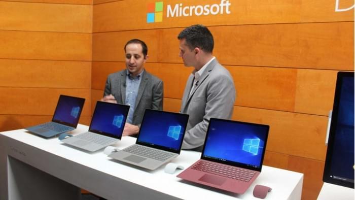 Windows 10 S现场上手体验的照片