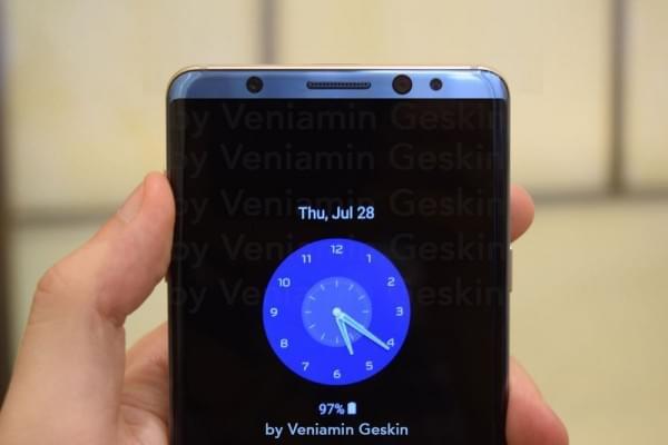 基于可靠信息源 设计师绘制出了三星Galaxy S8的渲染图的照片 - 1