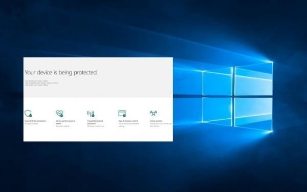 Windows Defender安全中心亮相:全方位保护你的电脑的照片 - 1