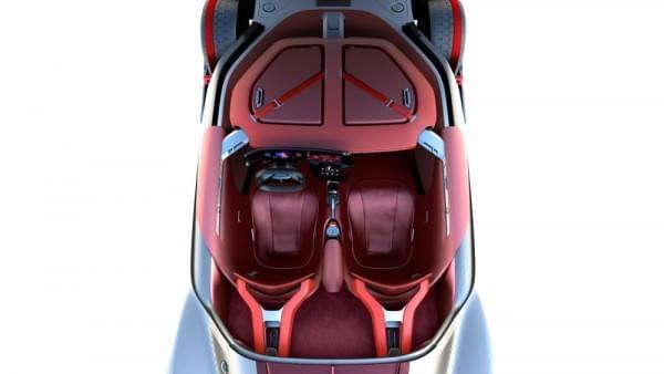 雷诺发布Trezor概念电动超跑:使用蛤壳式车门的照片 - 17