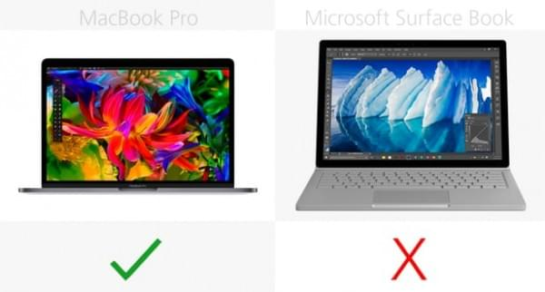 MacBook Pro和Surface Book终极对比的照片 - 13