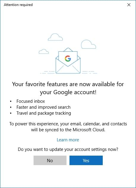 Gmail用户也能享受Win10邮件和日历应用新功能了的照片 - 2