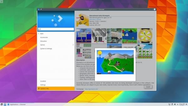 KDE Plasma 5.8.3 LTS发布:KWin及Discover迎来巨大改善的照片
