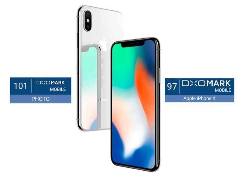 DXOMark公布结果 iPhoneX成史上拍照能力最