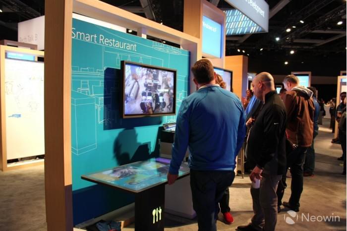 微软展示Kodisoft Windows 10 IoT Core交互式平板的照片 - 1