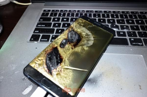 国行Note7第四起事故用户采访实录:剧烈燃烧事故的照片 - 10