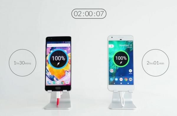 OnePlus 3T预热视频:比Pixel XL更快充满电的照片