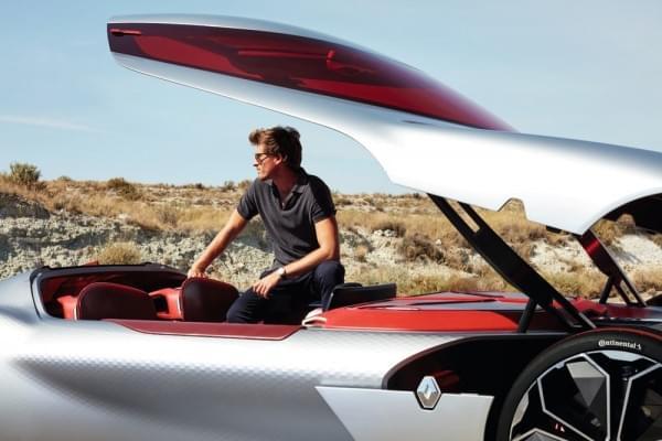 雷诺发布Trezor概念电动超跑:使用蛤壳式车门的照片 - 35