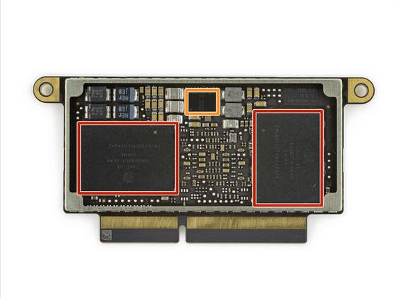 13英寸入门级新MacBook Pro拆解 很难修复的照片 - 25