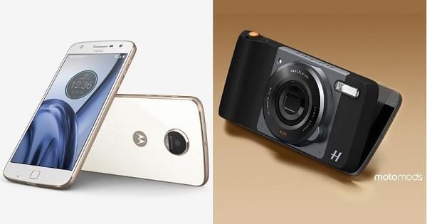 Moto Z Play Droid与哈苏相机模块现已开放预定的照片 - 1