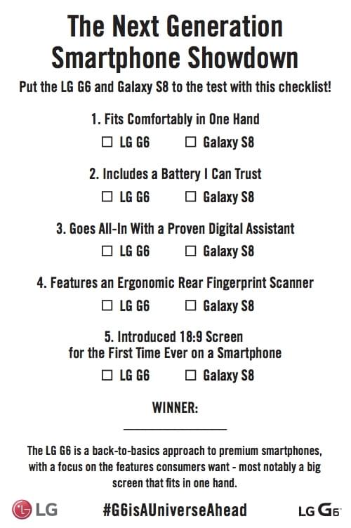LG背后插刀:选G6还是Galaxy S8?请先考虑这五个问题的照片 - 2