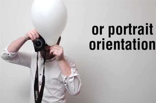 教你如何巧用气球轻松削弱强烈的闪光灯的照片 - 1
