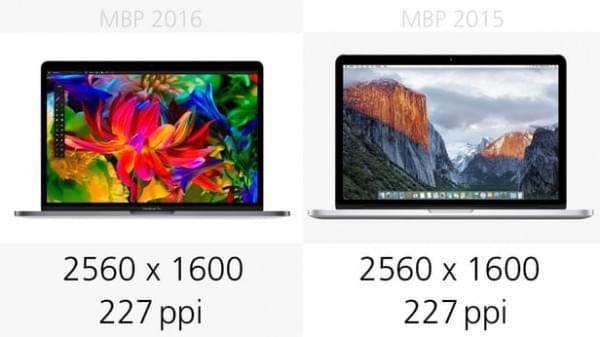 前后两代13英寸MacBook Pro规格参数对比的照片 - 7