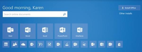 微软宣布Office.com迎来首个重大更新的照片 - 1
