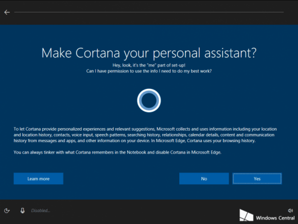 Windows 10最新内测版出现Cortana设置界面的照片 - 3