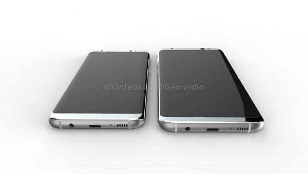 三星 Galaxy S8 / S8 Plus 渲染图曝光: 指纹传感器在哪?的照片 - 3