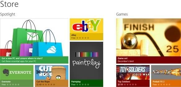Windows Store是未来系统的重心:有望为微软带来更多营收的照片 - 2