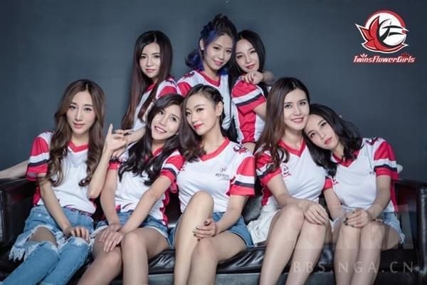 中国首支女子《守望先锋》战队成立:都是大美女的照片 - 1