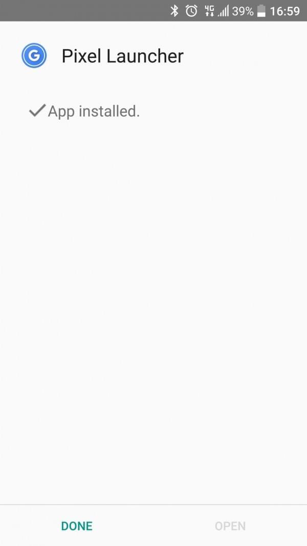 谷歌Pixel手机安卓7.1桌面Launcher下载:取消程序抽屉的照片 - 7