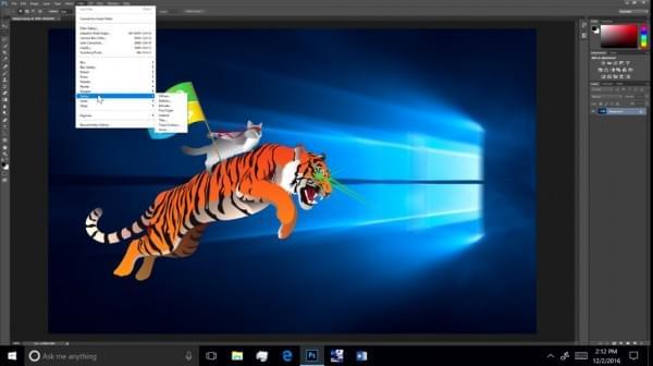 看高通骁龙处理器运行Windows 10桌面版Photoshop的照片 - 1