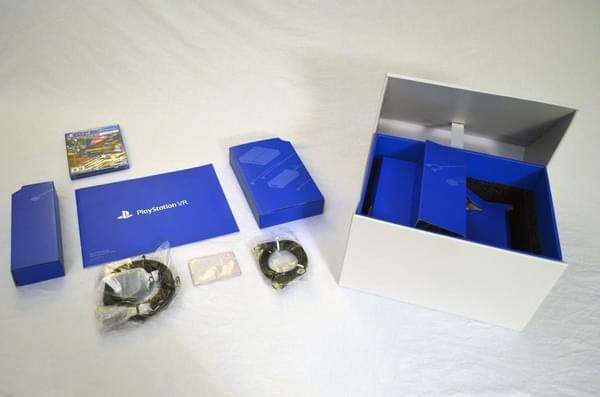 索尼PS VR零售版开箱 附赠这几款游戏大作的照片 - 5