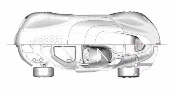 雷诺发布Trezor概念电动超跑:使用蛤壳式车门的照片 - 22